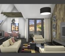 Luxus tetőtéri lakás