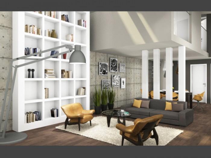 Belvárosi luxus lakás brazil stilusban